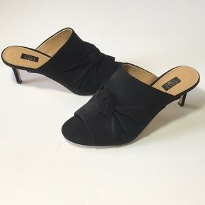 G.I.L.I. Kadie Knotted Front Open Toe Mules